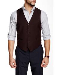 John Varvatos Collection Pitt Button Front Vest