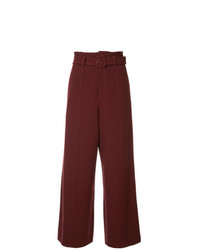 G.V.G.V. Cady Wide Leg Trousers