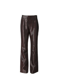 Jean Louis Scherrer Vintage High Shine Trousers
