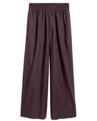 Wide leg cotton pants medium 3740882