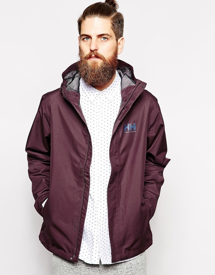 Helly Hansen Rain Jacket With Hood   Where to buy & how to wear