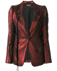 Metallic fitted blazer medium 4979762
