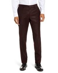 BOSS Giro Solid Wool Dress Pants