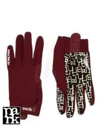 Park frag gloves burgundy medium 86399