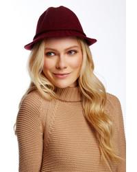 August Hat Knitty City Wool Blend Fedora