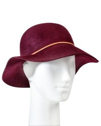 Merona Felight Floppy Hat Burgundy Tm