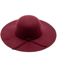 Luxe Wool Wide Brimmed Hat