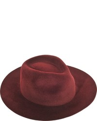 Larose Zip Fedora Hat