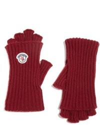 Moncler Guanti Wool Cashmere Long Fingerless Gloves