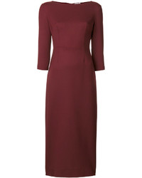 P.A.R.O.S.H. Plain Midi Dress