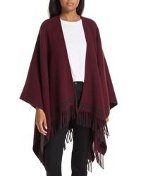 Rag & Bone Stripe Merino Wool Poncho