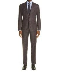 Giorgio Armani Birdseye Virgin Wool Suit