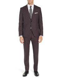BOSS Reymondwenten Extra Slim Fit Solid Wool Suit