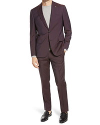 Ted Baker London Roger Fit Solid Wool Suit