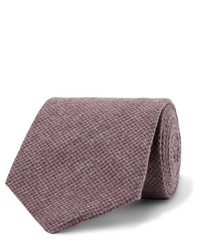 Oliver Spencer 8cm Brushed Organic Cotton Blend Jacquard Tie