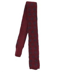 Lardini 6cm Shetland Wool Jacquard Sock Tie