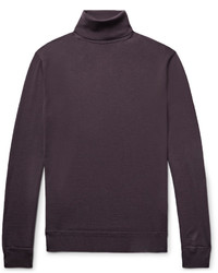Wool and cashmere blend rollneck sweater medium 3772219