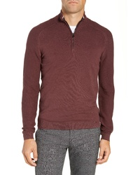 Ted Baker London Just Fit Funnel Neck Pullover