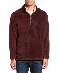 True Grit Pebble Pile Quarter Zip Pullover