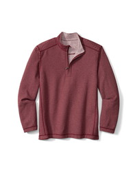 Tommy Bahama Switch It Up Quarter Zip Reversible Sweatshirt
