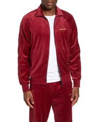 Diesel Max Velvet Zip Jacket