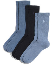Calcetines azules de Polo Ralph Lauren
