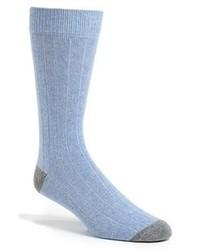 Calcetines celestes de Etiquette Clothiers