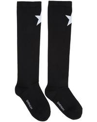 Calcetines de estrellas negros de Givenchy