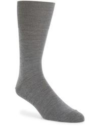 Calcetines de lana grises de Falke