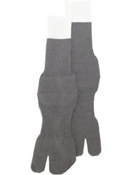 Calcetines de lana grises de Maison Margiela