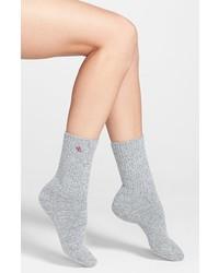 Calcetines de lana grises de Ralph Lauren