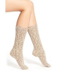 Calcetines de lana marrón claro de Ralph Lauren
