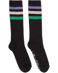 Calcetines de rayas horizontales en multicolor de Palm Angels