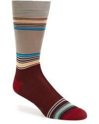 Calcetines de rayas horizontales en multicolor de Paul Smith