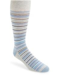 Calcetines de rayas horizontales grises de Nordstrom