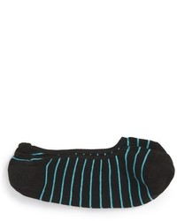 Calcetines de rayas horizontales negros de Peter Millar