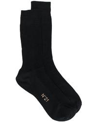 Calcetines de seda negros de No.21