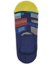 Calcetines estampados azul marino de Bugatchi