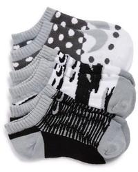 Calcetines estampados blancos de Nike