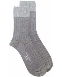 Calcetines grises de Comme des Garcons
