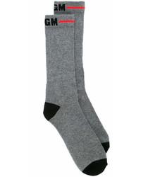 Calcetines grises de MSGM