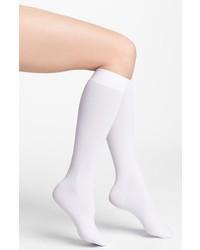 Calcetines hasta la rodilla blancos de DKNY