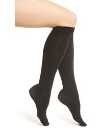 Calcetines hasta la rodilla negros de DKNY