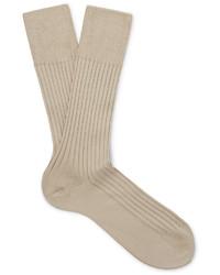 Calcetines marrón claro de Falke