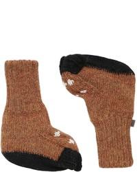 Calcetines marrónes de Oeuf