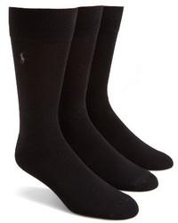 Calcetines negros de Polo Ralph Lauren