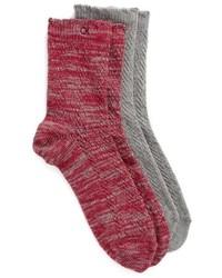 Calcetines rojos de Calvin Klein
