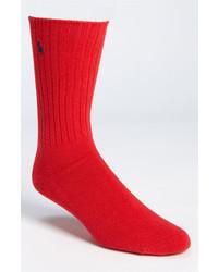 Calcetines rojos de Polo Ralph Lauren