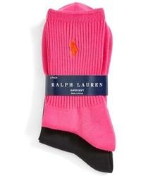 Calcetines rosa de Ralph Lauren