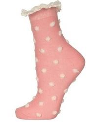 Calcetines rosados de Topshop